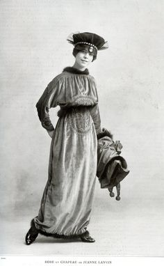Dress by Jeanne Paquin - November 1913