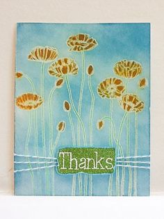 Hand made cards: Stampin Up cards  Thanks  Thank you  by Wcards