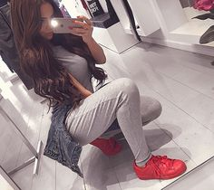 Adidas Superstar Supercolor Red