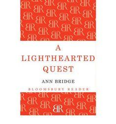 I prefer reading: A Lighthearted Quest - Ann Bridge