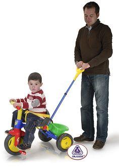 VENTA Injusa 336 - Triciclo para bebés Tritón con mango. HASTA FIN EXISTENCIAS, IndalChess.com Tienda de juguetes online y juegos de jardin