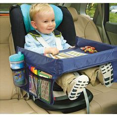 On The Go Waterproof Play n' Snack Car Seat Tray