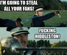 Tom Hiddleston vs. Benedict Cumberbatch, I keep forgetting these men were in a movie together ♡o♡