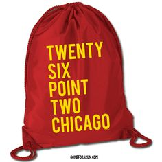Need a drawstring bag to hold all of your running training gear? Check out our cinch sack bags! goneforarun.com