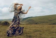 Alisa Ahmann Plays a Carefree Nomad in the Porter Magazine #11 Issue #fashion trendhunter.com