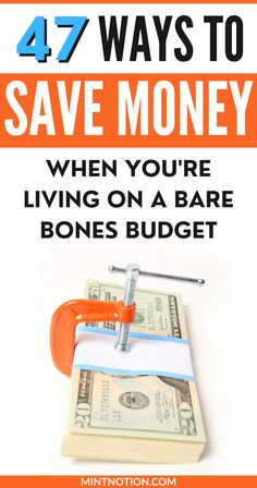 How to save money on a tight budget. If you're living on a low income, follow these frugal living tips to help you save money every month. These smart ways to save money involve very little effort and actually work.