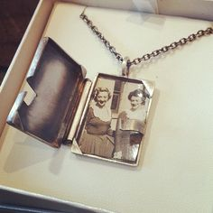 Custom sterling silver photo locket.  Hand forged and fabricated.  www.brentdakis.com