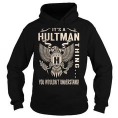 Awesome Tee Its a HULTMAN Thing You Wouldnt Understand - Last Name, Surname T-Shirt (Eagle) T-Shirts