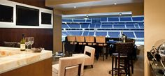 Most expensive NFL seats . Leasing a suite at the Cowboys stadium for $800,000 to $1 million and you must sign a 20 year contract.
