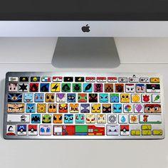 Pokemon Keyboard Stickers Shut Up And Take My Yen : Anime & Gaming Merchandise