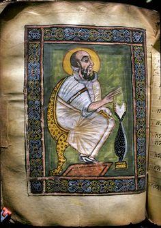 St. Mark the Evangelist, Abba Garima III, fol. 310v