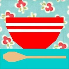 Mixing Bowl Paper Pieced Pattern