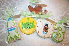 Toy Story Organic Sugar Cookies