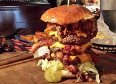 ShortList's Search For The UK's Best Burger - Red Dog Saloon, London