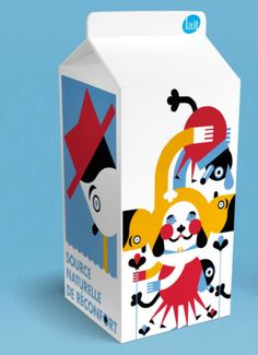 design by Mathieu Labrecque #milk #packaging