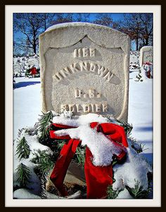 National Cemetery, Christmas day 2009  Fort Smith, Arkansas