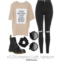 Inspired Outfit for KCON: Namjoon