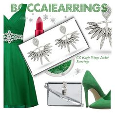 """Boccaiearrings"" by selmir ❤ liked on Polyvore featuring MAC Cosmetics, Nine West and Dolce&Gabbana"