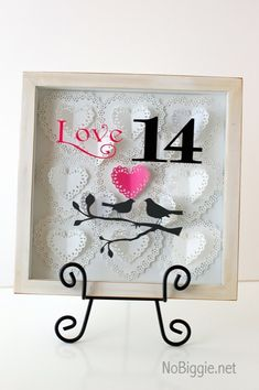V-day shadow box