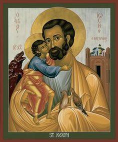 EL NIÑO JESÚS CON SAN JOSÉ
