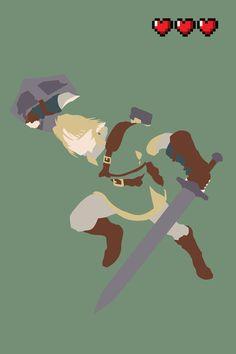 The Legend of Zelda - Link Art