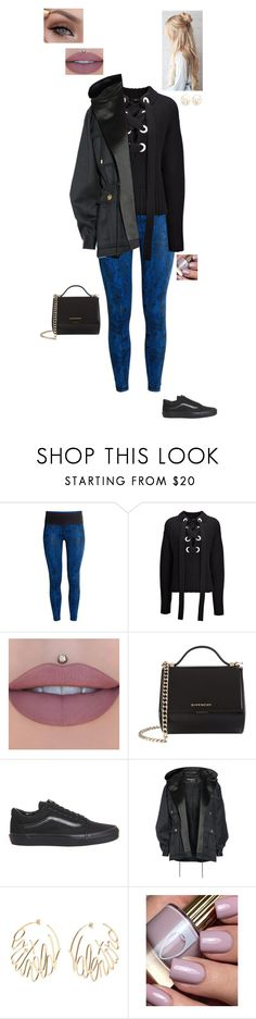 """""""7.12.17"""" by jesshorne2016 ❤ liked on Polyvore featuring H&M, Joseph, Jeffree Star, Givenchy, Vans, Balmain and Valentino"""