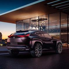 Lexus UX concept created at Toyota's ED2 design center in France will make its debut at the Paris auto show.