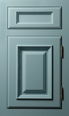 Turquoise Blue kitchen cabinets.  I'll be doing this soon : D