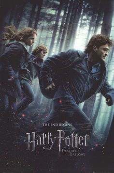 Harry Potter & The Deathly Hallows Part 1 - Forest Run Movie Poster