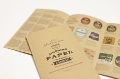 The Craft Beer Label Collection by Blou and Rooi.