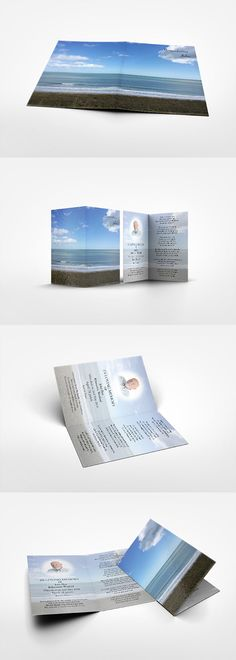 A fine laminated card featuring beautiful view of the azure sea in Rosslare Co. Wexford. The card measures a handy 70mm x 115mm when folded. Your verse and photo can be added on the cover and the inside of the card, creating a beautiful and very personal keepsake. We will deliver quantities of between 15 and 200 copies.