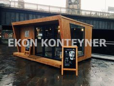 42 Ideas container house cafe coffee shop for Cafe Cafe Container, Shipping Container Cafe, Ships . Container Home Designs, Café Container, Container Coffee Shop, Container Architecture, Container Buildings, Architecture Design, Café Design, Kiosk Design, House Design