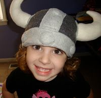 So you want to make a Fleece Viking Hat for your little barbarians? I posted an entry about doing this a year ago, but I never really sh...