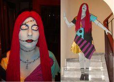 Disfraz realizado a mano, Sally Skellington, de Pesadilla antes de Navidad