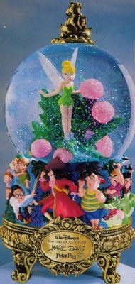Disney Peter Pan Masters of Animation Snowglobe