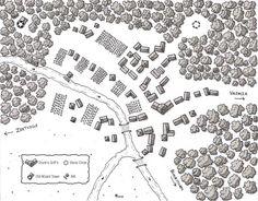 River-city commissioned by BrutalRpg.com   - Kosmic Dungeon #rpg #map #jdr #BrutalRPG