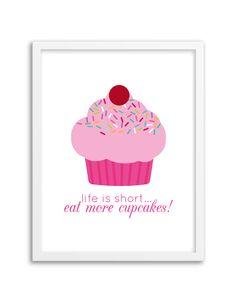 free-printable-wall-art-cupcake-print-2.png (700×900)