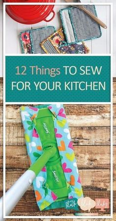 12 Things to Sew for Your Kitchen DIY Sewing Projects Easy Sewing Projects Quick and Easy Sewing Projects for Kids Kitchen Sewing Projects Fast Sewing Projects Popular Pi. Sewing Basics, Sewing Hacks, Sewing Tutorials, Sewing Crafts, Sewing Tips, Diy Gifts Sewing, Gifts To Sew, Bag Tutorials, Diy Crafts
