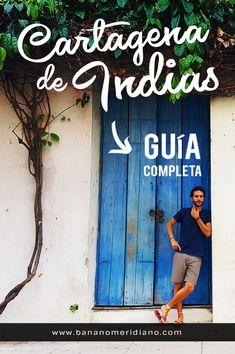 Toda la información que necesitas para organizar tu viaje a Cartagena de Indias. #colombia #viajar #consejos #travelblog #cartagenadeindias #sudamerica Places To Travel, Places To Go, Colombia Travel, Very Tired, South America, Travel Guide, Koh Tao, Vacation, World