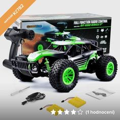 New Remote Control WiFi Monster Truck Racing RTR Vehicles Electric Kids Toys Newest Rc Vehicle Monster Truck Racing, Monster Trucks, Rc Trucks, Green Materials, Car Lights, Rc Cars, Kids Toys, Wifi, Remote