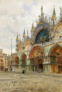 Venice - Giuseppe Marastoni    19th century