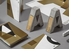 Absolutely beautiful industrial and branding project created by Happycentro Design Studio in Verona, for the annual architecture award Architettiverona. The prize «ARCHITETTIVERONA Identity Design, Visual Identity, Logo Design, Brand Identity, Corporate Identity, Branding And Packaging, Trophy Design, Architecture Awards, Grid Design
