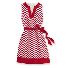 Game Day Dress - Red & White University of Houston Cougars Cuteness