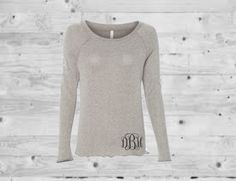 monogrammed shirt, monogrammed sweat shirt, monogrammed top, personalized sweater