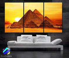 """12/""""x20/""""Egypt Warrior HD Canvas Print Painting Home Decor Room Wall Art Picture"""