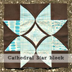 Cathedral Star block tutorial