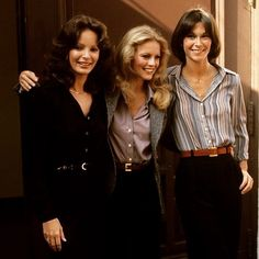 Jaclyn Smith, Cheryl Ladd and Kate Jackson.