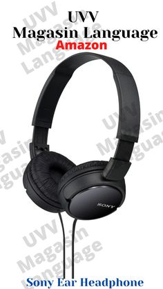 Amazon Sony Ear Headphone - UVV Magasin Language Resume Services, Let's Have Fun, Handmade Shop, Oak Brook, Amazon Products, Professional Resume, Sony, Organizing, Online Shopping