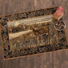 Lakeside Deer Rug - 4 x 5