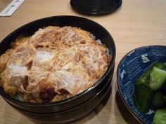 "Japanese Food ""Don"" -a bowl of rice topped with sidedish"